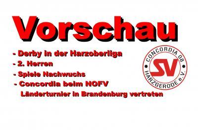 Foto zu Meldung: Vorschau 08.04. / 10.04.