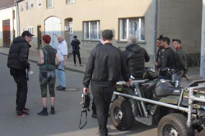 Foto zur Meldung: Filmaufnahmen in Freyenstein