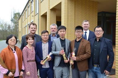 Foto zur Meldung: Asien trifft auf OSL: Junge Lehrer aus China hospitieren am OSZ Lausitz