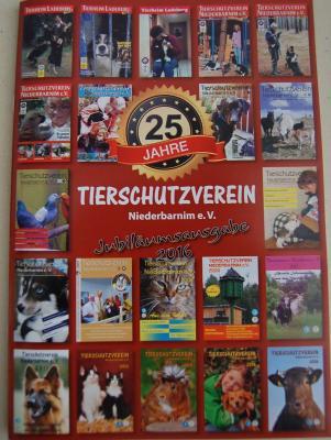 Foto zu Meldung: Jubiläumsausgabe unserer Tierheim - Zeitung