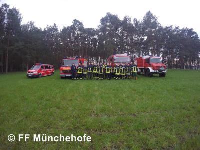 """Foto zur Meldung: 15.04.2016 Ausbildung """"Umgang mit der Motorkettensäge"""""""