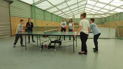Foto zur Meldung: Tischtennisplatten für Tremmen und Falkenrehde