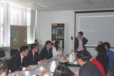 Bild der Meldung: Chinesische Delegation in Hoppegarten