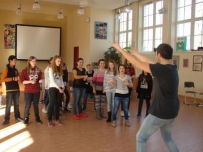 Vorschaubild zur Meldung: Theater-Thealingua im Französischunterricht