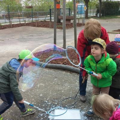 Foto zu Meldung: Frühlingsfest bei den Füchsen