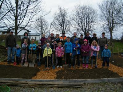 Foto zur Meldung: Aktion Schulgarten