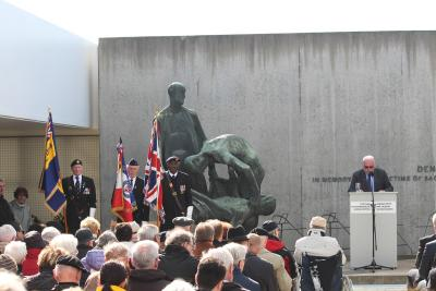 Foto zu Meldung: Vor 71 Jahren: Befreiung des KZ Sachsenhausen