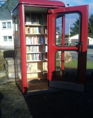 Foto zu Meldung: Bücherzelle