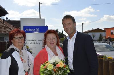 Foto zu Meldung: Allianz Generalvertretung feiert Jubiläum