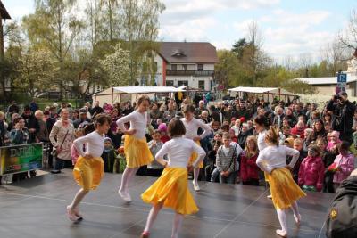 Foto zur Meldung: 3. Frühlingsfest in Brück - ein multikultureller Erfolg