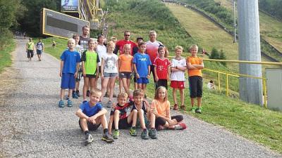 Foto zur Meldung: Skisprungtrainingslager in Tschechien