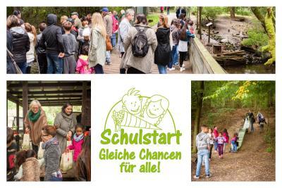 """Foto zur Meldung: Schulstart - Gleiche Chancen für alle lädt zum """"Frühjahrsputz im Tierpark Kunsterspring"""" ein"""