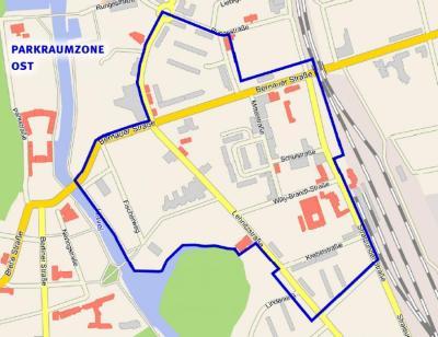 Foto zu Meldung: Parken in der östlichen Innenstadt: Seit 1. Mai neue Regelung in Kraft