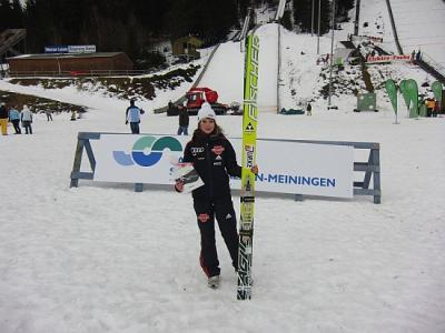 Foto zur Meldung: Platz 5 und 9 für Juliane beim Weltcup in Rasnov