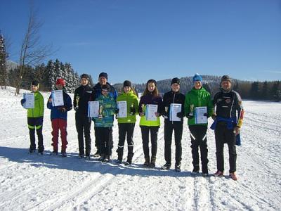 Foto zur Meldung: Thüringer Paarlaufmeisterschaften