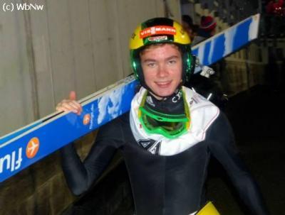 Foto zur Meldung: Sieg und Platz 2 im Alpencup für Sebastian Bradatsch