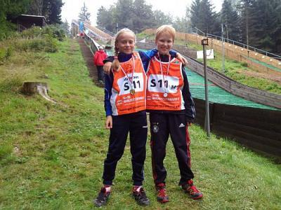 Foto zur Meldung: Hans-Renner-Pokalsprunglauf in Zella-Mehlis