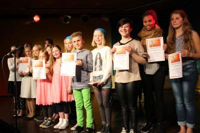Foto zur Meldung: Yvette ist das größte Gesangstalent in Schafflund