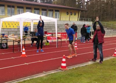 Foto zur Meldung: Laufgruppe feiert sich und seinen Sport, anlässlich der 800-Jahrfeier von Laage