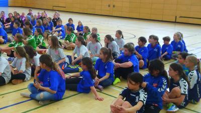 Foto zur Meldung: Handball-Nachwuchs:  E- Jugend mit Platz 7 beim Berlin-Brandenburg-Cup