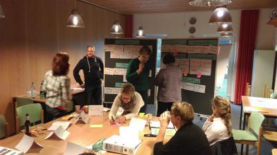 Foto zu Meldung: Engagement-Projekt: Schwimmabteilung entwickelt Stellenbeschreibungen für freie Engagement-Felder