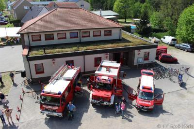 Foto zur Meldung: 07.05.2016 Tag der offenen Tür der FF Groß Köris