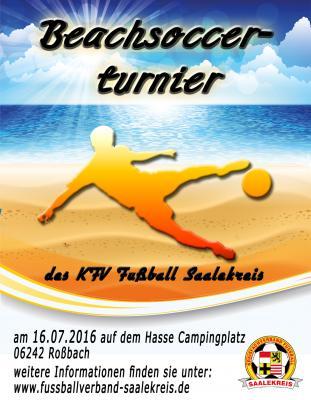 Foto zur Meldung: Beachsoccerturnier des KFV Fußball Saalekreis