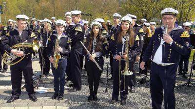 Foto zur Meldung: Neue Musiker in den Reihen des Musikzuges