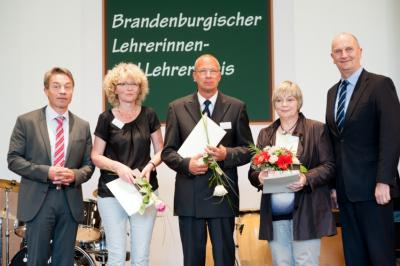 Foto zur Meldung: Ehrung für Frau Wendenburg