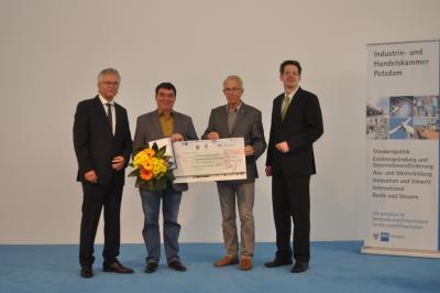 Foto zu Meldung: Radiokampagne der CGO gewinnt Preis bei der IHK Potsdam