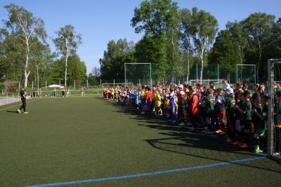 Foto zur Meldung: 19. KJSS im LK OSL , Fußball in Brieske