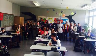 Foto zur Meldung: Besuch aus Marata (Brasilien)