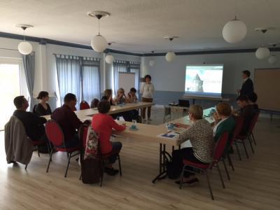 Vorschaubild zur Meldung: Weiterbildung mit Seminarcharakter mit tollem Ausblick