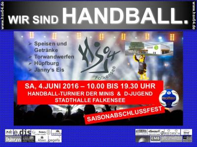 Foto zu Meldung: Saisonabschlussturnier + Fest am 04. Juni 2016 von 10:00 - 19:30 Uhr / Stadthalle Falkensee