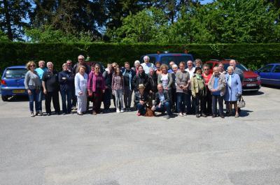 Foto zur Meldung: Pfingstfahrt in die französische Partnergemeinde Charvieu-Chavagneux
