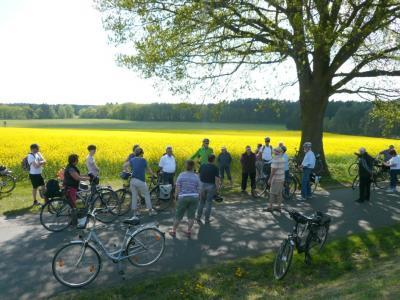 Foto zu Meldung: Achte Radtour des Amtes