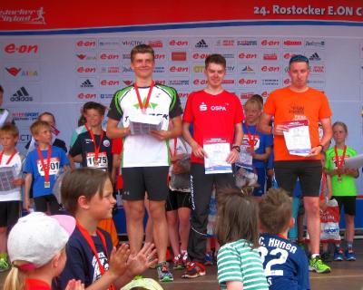 Foto zur Meldung: Wenn Laufen zum Erlebnis wird - der 24.Rostocker City-Lauf