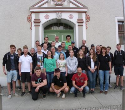 Foto zur Meldung: Abschied der Trachtenkapelle Stammheim