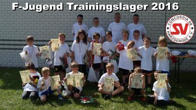 Foto zu Meldung: F-Jugend Trainingslager