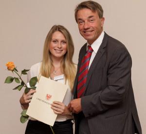 Foto zur Meldung: Auszeichnung für die Ehrenamtliche Tätigkeit im LCV