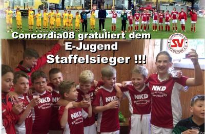 Foto zu Meldung: E-Jugend wird vorzeitig Staffelsieger !