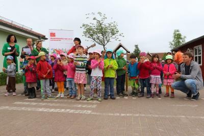 Bild der Meldung: Ein ganzes Stück Brandenburg-Tag für Kinder