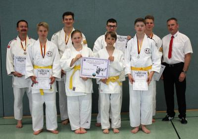 Foto zur Meldung: Internationale-Deutsche-Meisterschaft der Kampfkünste