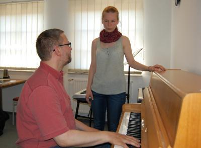 Foto zur Meldung: Vorbereitung auf ein Musikstudium