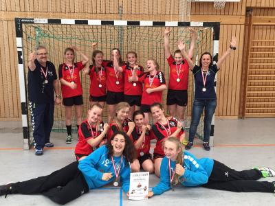 Foto zur Meldung: Bronze für unsere D-Jugend bei der Landesmeisterschaft