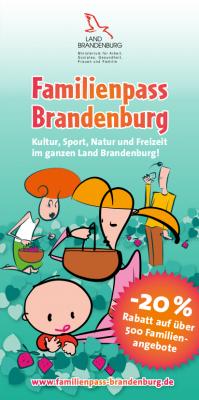 Vorschaubild zur Meldung: Der Familienpass Brandenburg 2017/2018