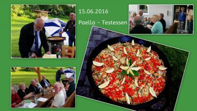 Foto zur Meldung: Mitglieder und Helfer/innen Treffen  IM ANGLERHEIM