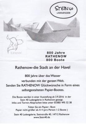 Foto zur Meldung: 800 Boote für Rathenow