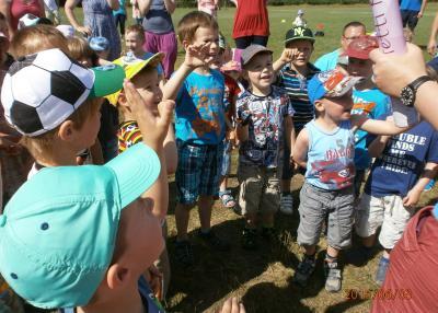 Foto zu Meldung: Füchse feiern Familien-Spaß-Sportfest
