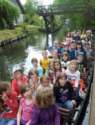 Foto zu Meldung: Exkursion in den Spreewald